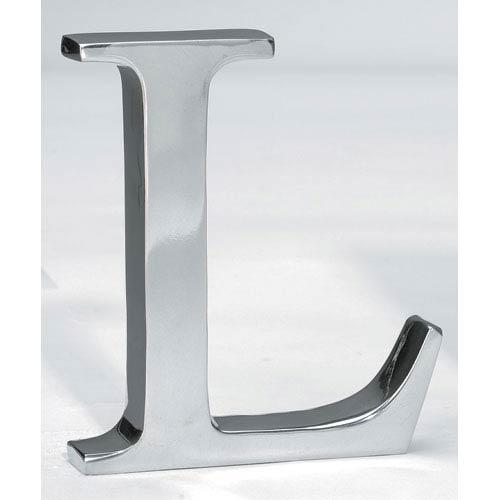 St. Croix Trading Kindwer Silver Aluminum Letter L
