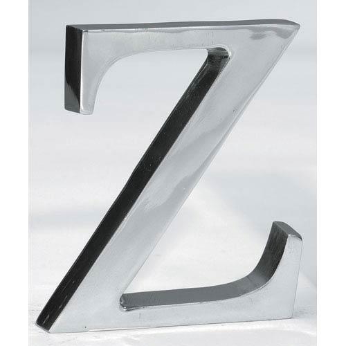 St. Croix Trading Kindwer Silver Aluminum Letter Z