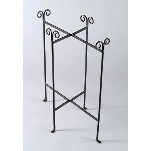 Kindwer Black Iron Floor Stand for Oblong Tub