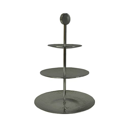 Kindwer Silver Three Tier Aluminum Stand