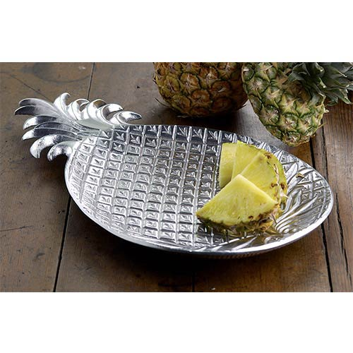 St. Croix Trading Kindwer Silver Pineapple Tray