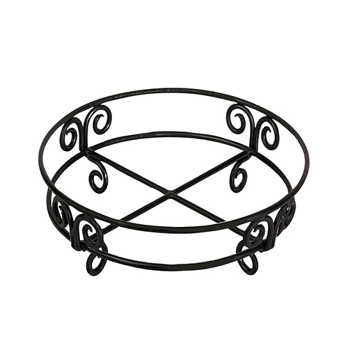 St. Croix Trading Kindwer Black Table Stand For Round Tub