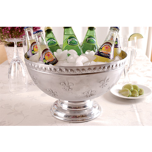 St. Croix Trading Kindwer Silver Punch Bowl