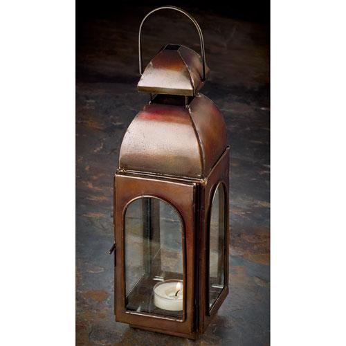 St. Croix Trading Kindwer Antique Bronze Candle Lantern