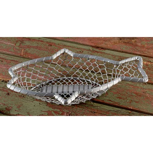 16-Inch Chain-Link Metal Fish Basket