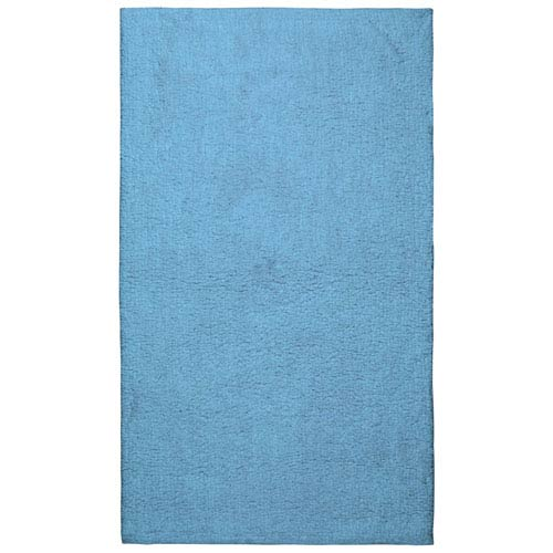 Plush Pile Light Blue 21-Inch x 34-Inch Bath Rug