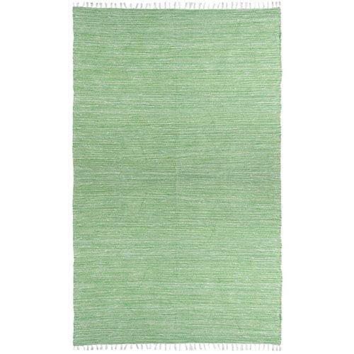 Complex Green Rectangular: 3 Ft x 5 Ft Rug