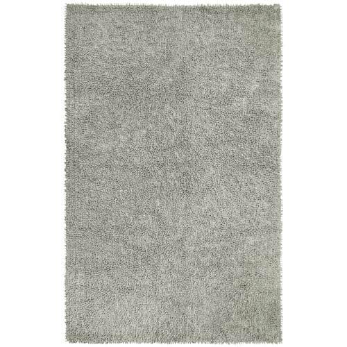 Gray Shagadelic Chenille Twist 21-Inch x 34-Inch Rug