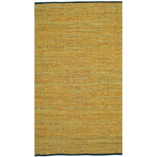 Matador Gold Rectangular: 1 Ft 9 In x 2 Ft 10 In Rug
