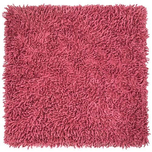 Shagadelic Chenille Twist Pink 27-Inch Double Sided Pillow