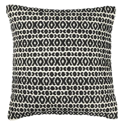 St. Croix Trading Structure Hugs and Kisses Black 27-Inch Pillow