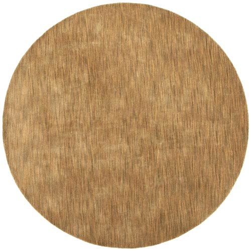 St. Croix Trading Fusion Chocolate Round: 6 Ft. x 6 Ft. Rug