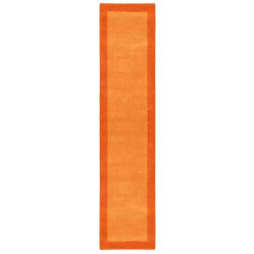 St. Croix Trading Pulse Orange Runner: 2 Ft. 5 In. x 12 Ft. Rug