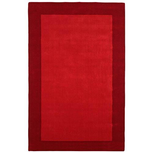 St. Croix Trading Pulse Red Rectangular: 5 Ft. x 8 Ft. Rug