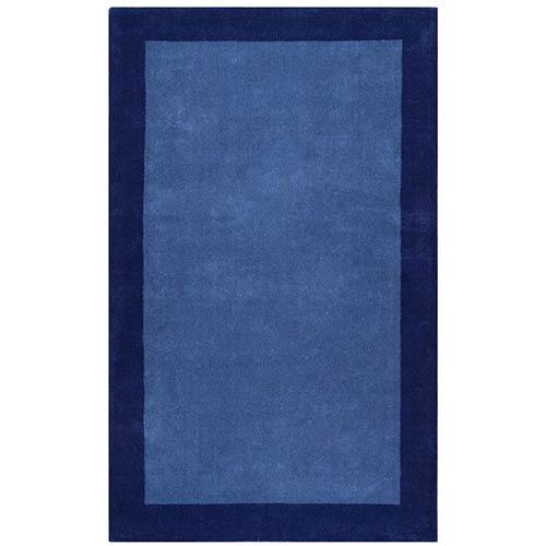 St. Croix Trading Pulse Blue Rectangular: 5 Ft. x 8 Ft. Rug