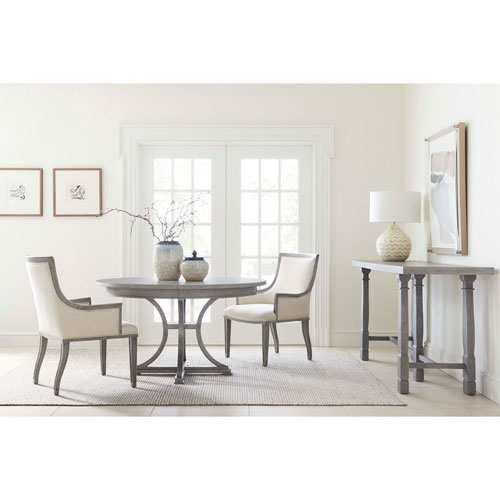 Willow Pewter 60-Inch Round Dining Table