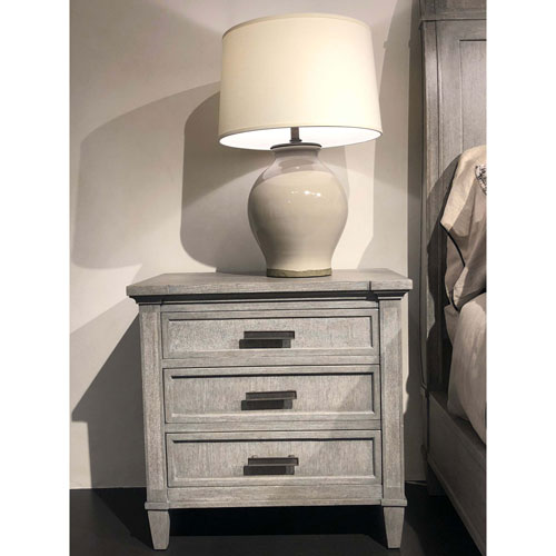 Willow Pewter Nightstand