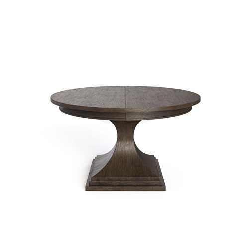 Horizon Flannel 54-Inch Round Dining Table
