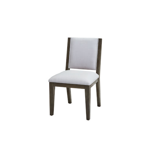 Bravo Brown Upholstered Back Side Chair