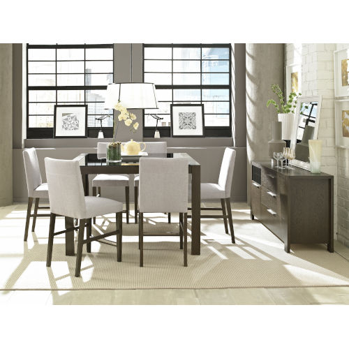 Montreal Brown Seven Piece Dining Set