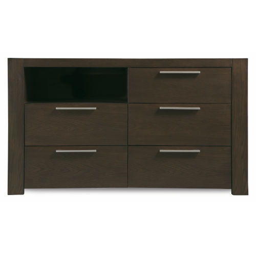 Montreal Brown Media Chest