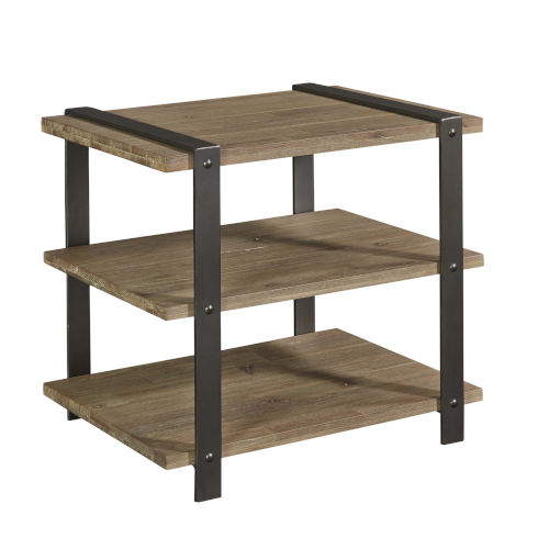 Hamlin Natural Rectangle Chairside Table