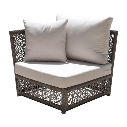Outdoor Modular Chairs with Cushions