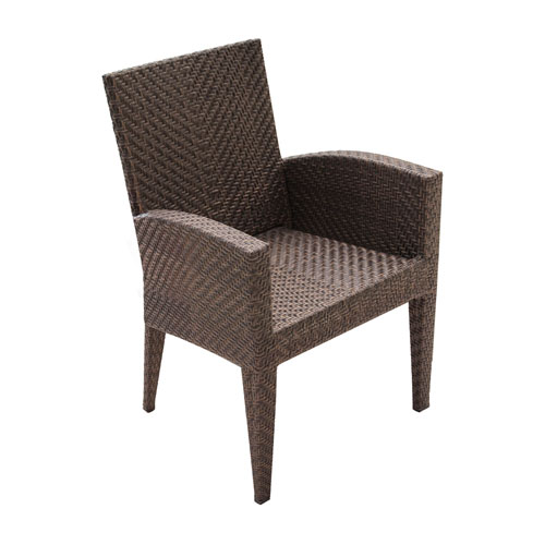 Oasis Java Brown Outdoor Dining Armchair