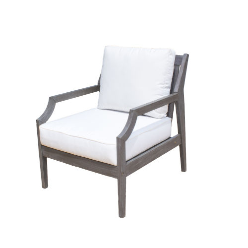Poolside Outdoor Lounge Chair with Cushion