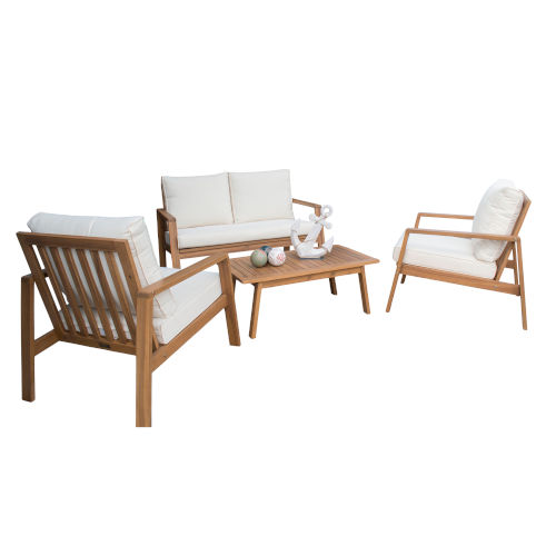 Belize Four-Piece Outdoor Seating Set