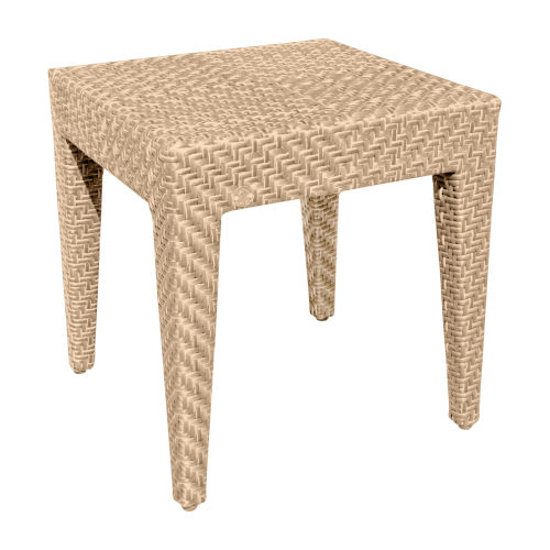 Austin Natural Outdoor End Table