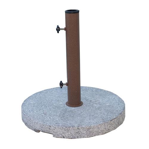 Granite Round Outdoor Umbrella Base