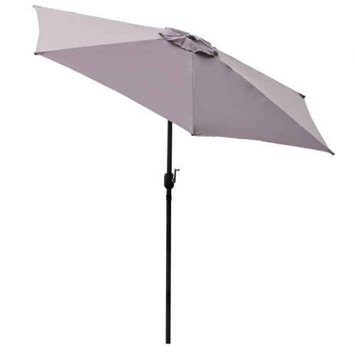 9-Feet Outdoor Patio Umbrella With Crank