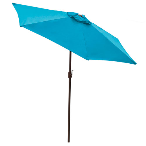 Espresso 9-Feet Patio Umbrella With Crank