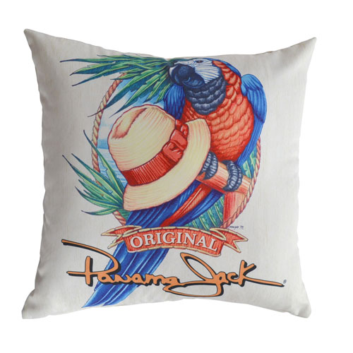 Multicolor Outdoor Parrot Throw Pillow, Set of 2