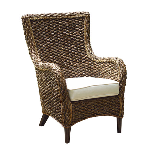 Sanibel Patriot Ivy Lounge Chair with Cushion