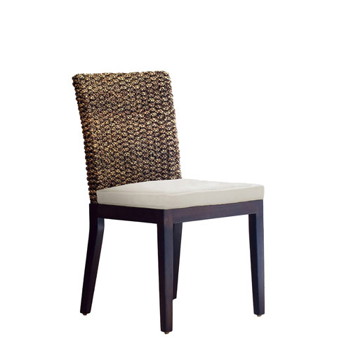 Sanibel Patriot Ivy Side Chair with Cushion