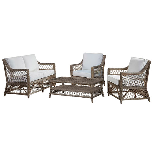 Seaside Patriot Ivy Four-Piece Living Set with Cushion