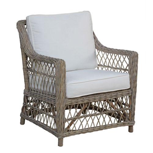 Seaside Boca Grande Lounge Chair with Cushion