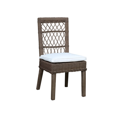 Seaside Rave Spearmint Side Chair with Cushion