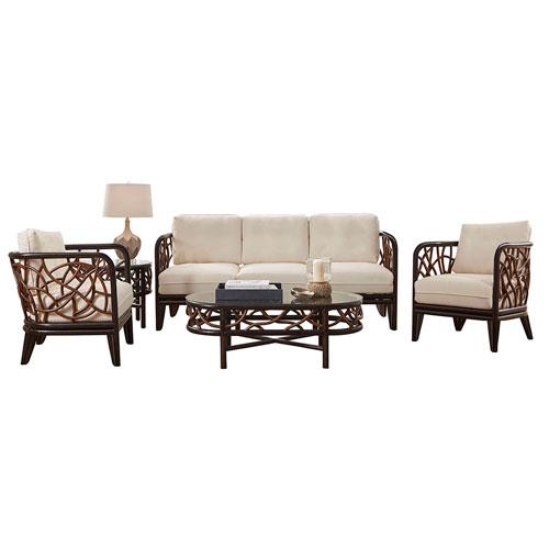Trinidad Boca Grande Five-Piece Living Set with Cushion