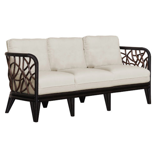 Trinidad Birdsong Seamist Sofa with Cushion
