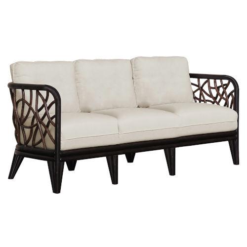 Trinidad Canvas Natural Sofa with Cushion