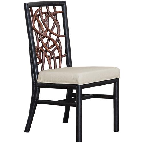 Trinidad Rave Spearmint Side Chair with Cushion