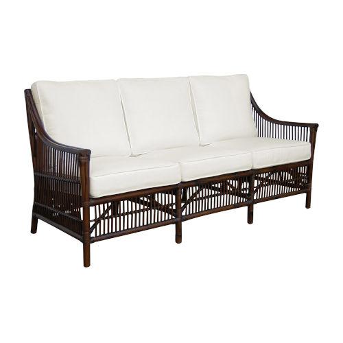Bora Bora York Jute Sofa with Cushion
