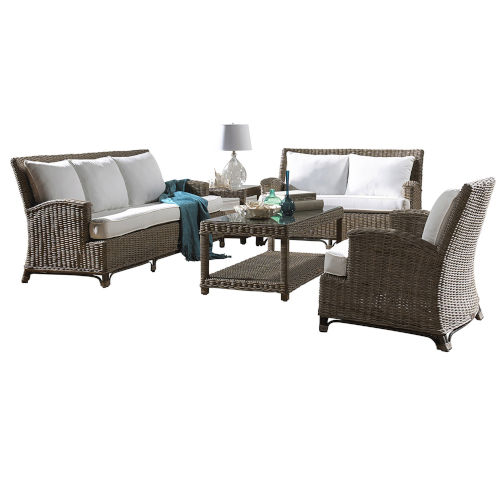 Exuma Five-Piece Living Set with Cushion