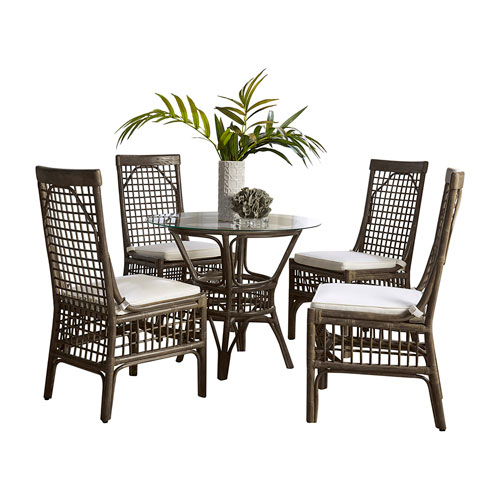 Millbrook York Dove Six-Piece Dining Set with Cushion