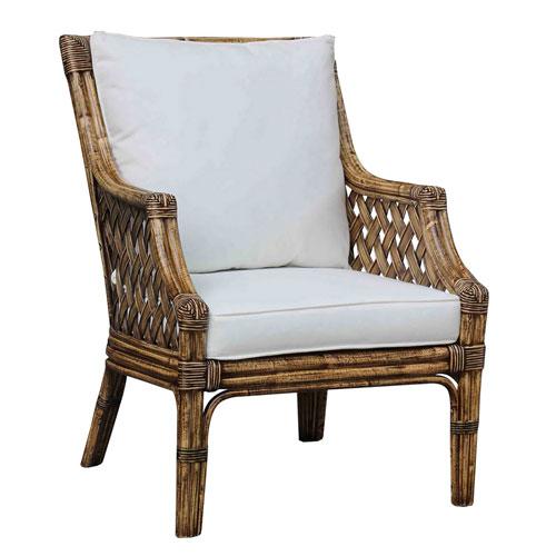 Old Havana Patriot Birch Lounge Chair with Cushion