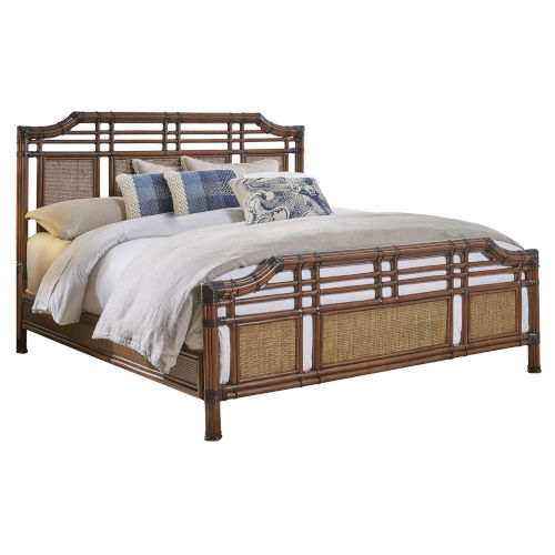Palm Cove King Antique King Bed