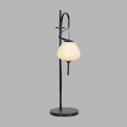 Lecce Black LED Table Lamp Title 24